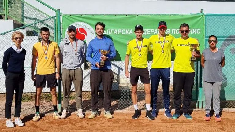 Черно море Елит и Дема спечелиха титлите на Държавното по тенис