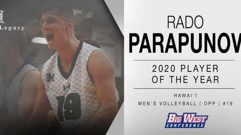 Радослав Парапунов - българското чудо на волейбола в Америка