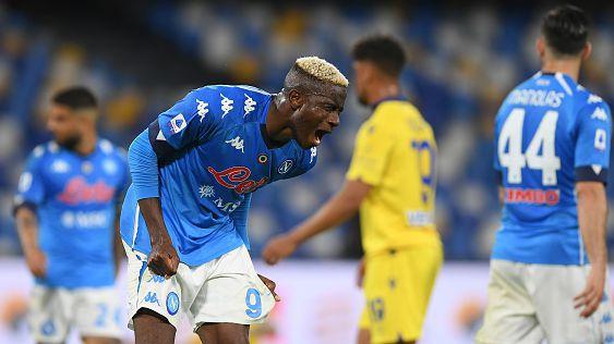 Провал за Наполи! Верона изпепели мечтите за ШЛ след 1:1 в Неапол