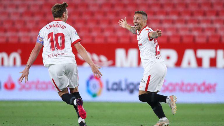 Севиля затвори сезона в Ла Лига с изстрадана победа срещу Алавес