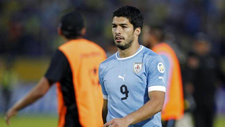Суарес е на линия за Мондиал 2014, ето съставът на Уругвай