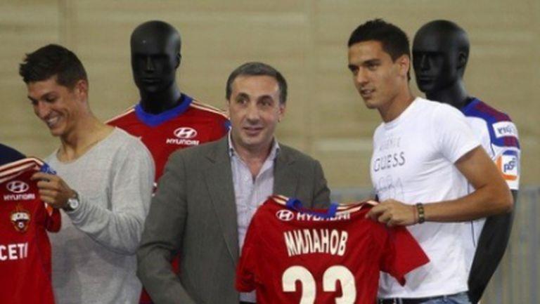 Президентът на ЦСКА (М) постави грандиозна цел пред Жоро Миланов и компания