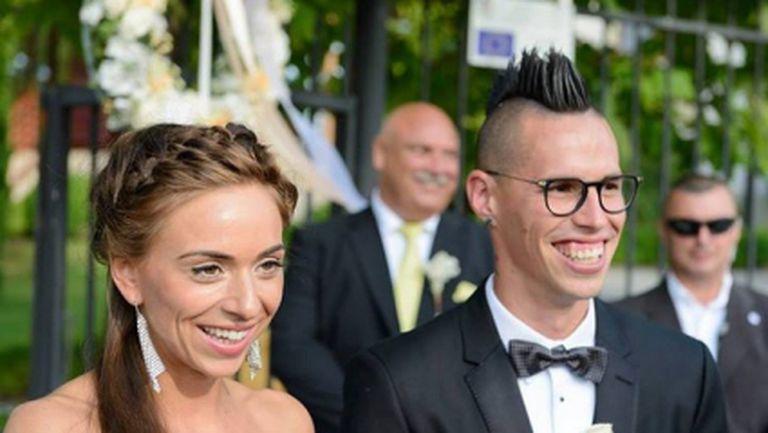 Марек Хамшик се ожени