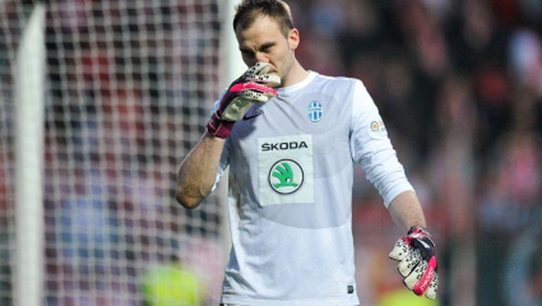 Новият вратар на ЦСКА може да се похвали с вкаран гол