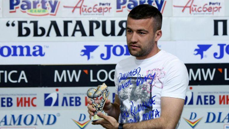 Стойчо отлюспил Милисавлевич заради гаф срещу Лудогорец