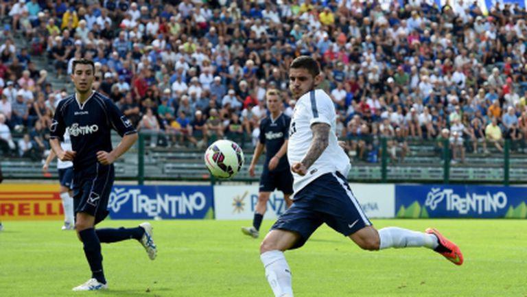 Икарди блести при разгромна победа на Интер