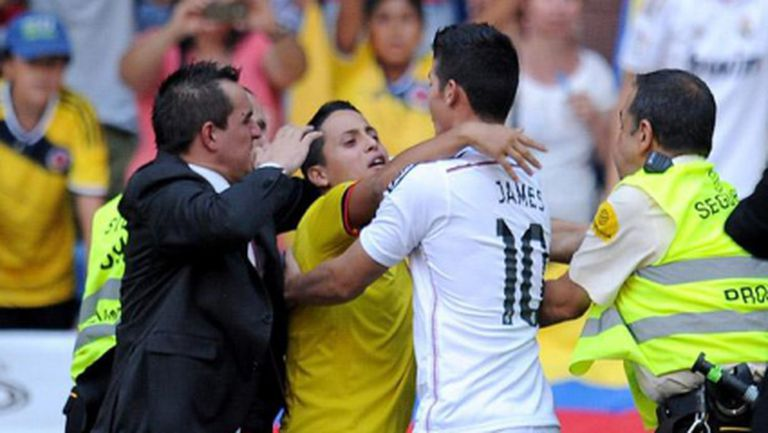 Хамес и стрейт флошът на Реал Мадрид