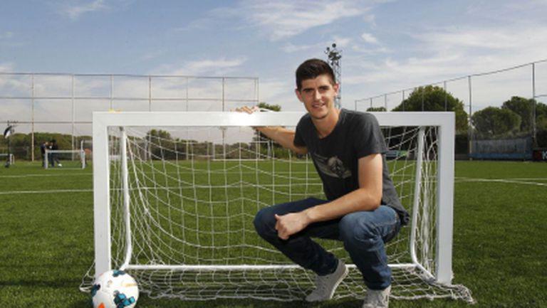 Куртоа: Беше приказно да играя за Атлетико (видео)