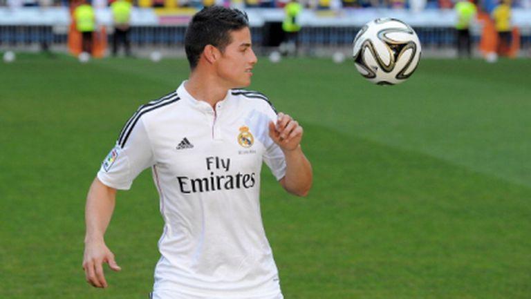 Хамес Родригес: Дано Фалкао заиграе в Реал Мадрид