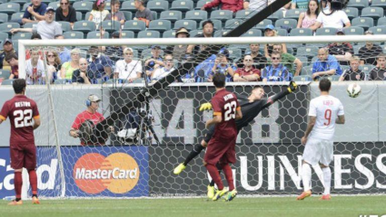 Интер взе скалпа на Рома (видео)