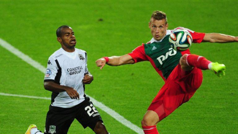 Непробиваеми вратари попречиха на Локо (Москва) и Краснодар да си вкарат гол