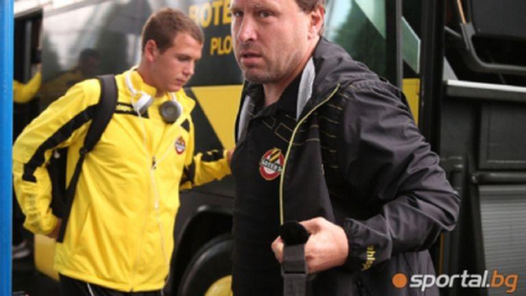 Вуцов обяви на кои футболисти ще разчита за мача с Лудогорец в Бургас
