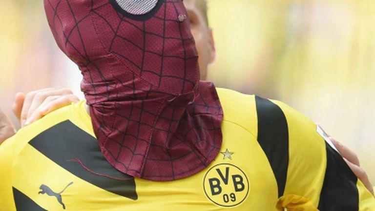 Забраниха на Спайдърмен да се появява в Бундеслигата