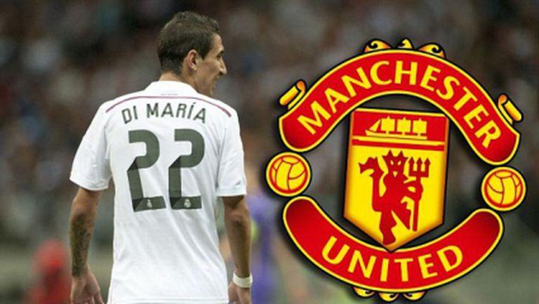 Ман Юнайтед с изкусителна оферта за Ди Мария на обща стойност 100 милиона