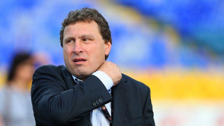 И Вили Вуцов поздрави Лудогорец, след което похвали младите си футболисти