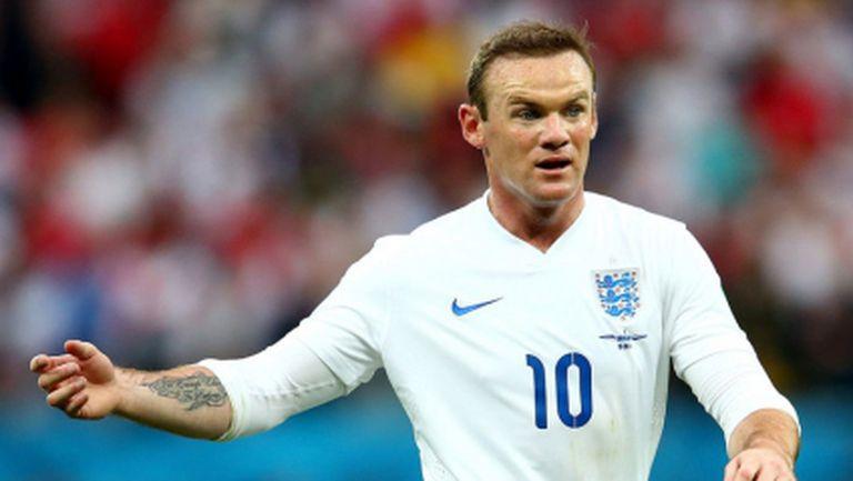Пет факта за кариерата на Уейн Рууни в националния отбор на Англия