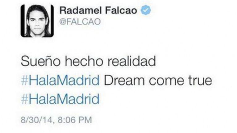 Фалкао за Реал Мадрид: Снимката е монтаж