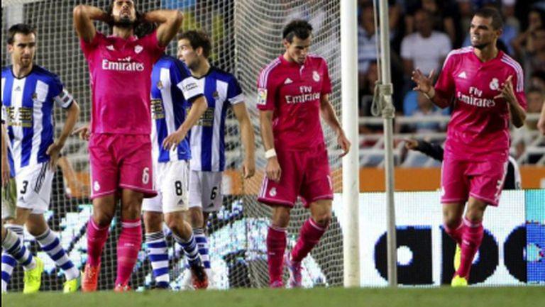Убийствен обрат, Реал Мадрид отнесе 4 болезнени шамара (видео+галерия)