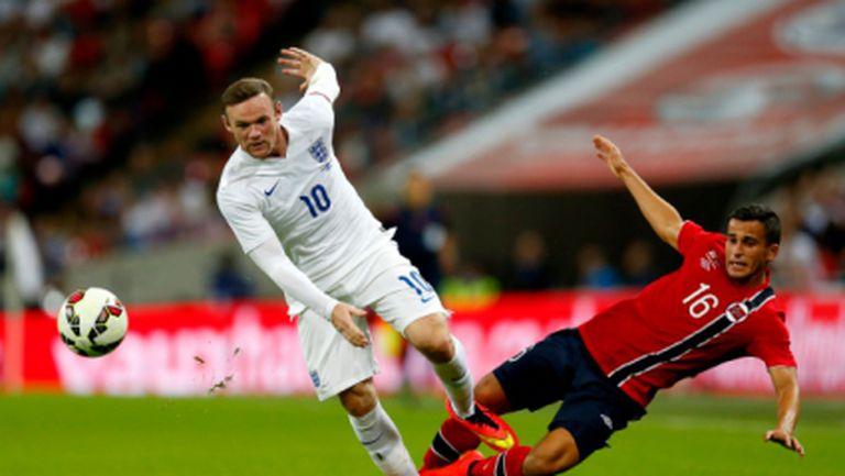 Англия излъга Норвегия с дузпа в скучен мач (видео)