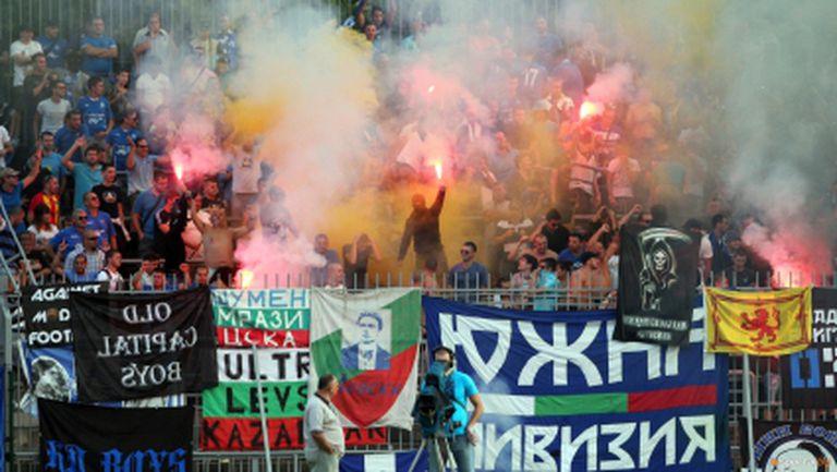 2 лева билетът за Спартак Вн - Левски