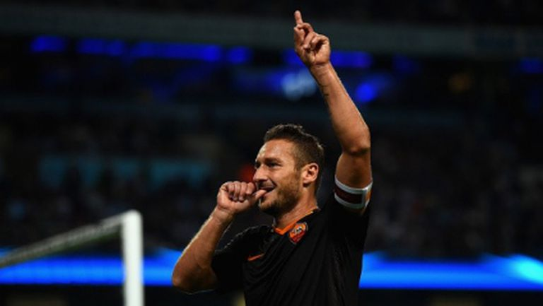 Ман Сити не успя срещу Рома, Тоти влезе в историята (видео+галерия)