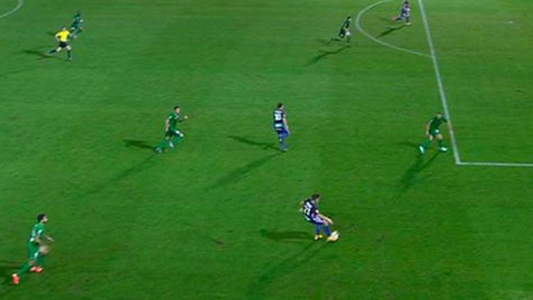 Шест гола, драма и хубав футбол в Ейбар (видео)