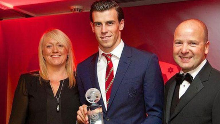 Бейл получи наградата за футболист на годината в Уелс