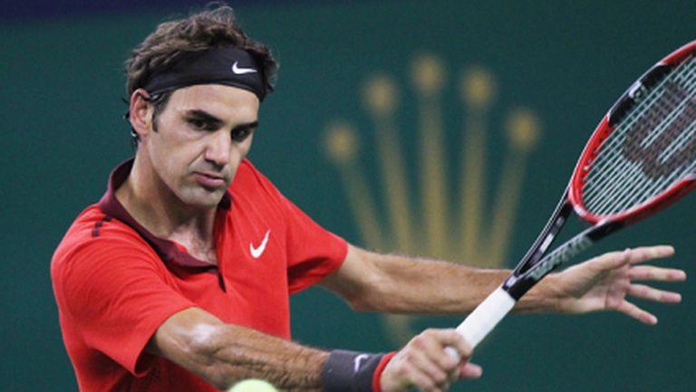 Федерер впечатли легенди на Милан (видео + снимки)