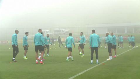Макар и в мъгла, Бразилия продължава усилена подготовка