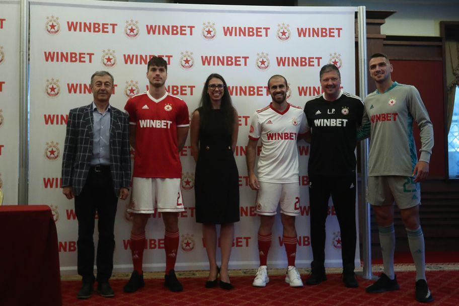 ЦСКА - София и WINBET представят новото си партньорство