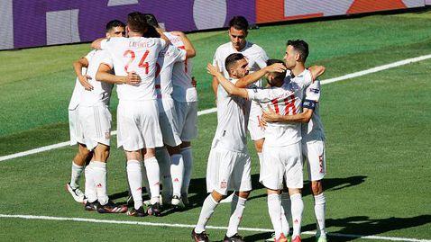 Испания отнесе Словакия с 5:0 и продължава напред