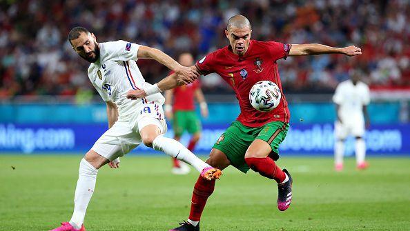 Португалия - Франция 2:2