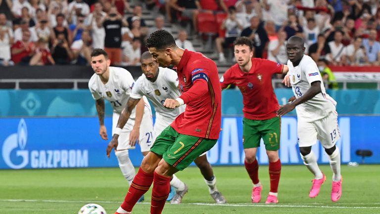 Португалия 2:2 Франция, Кристиано изравни с нов гол от дузпа (гледайте тук)