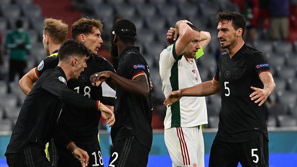 Германия - Унгария 2:2