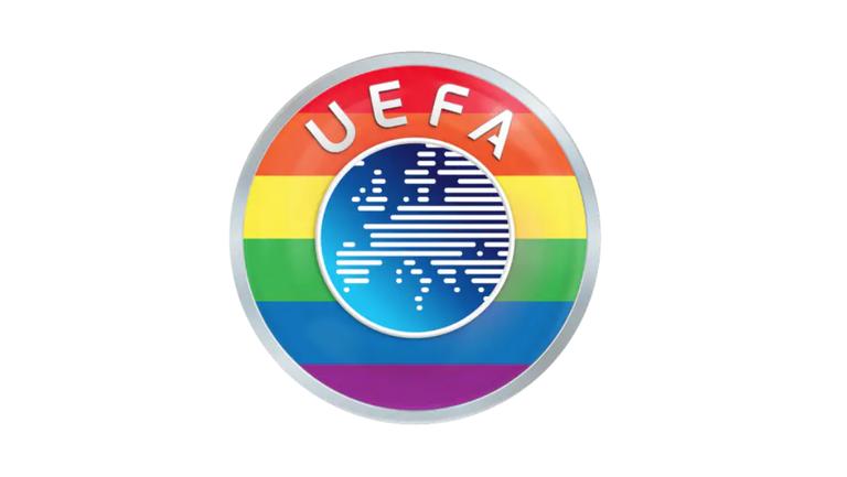 УЕФА се гордее с цветовете на дъгата, обявиха от Европейската футболна централа