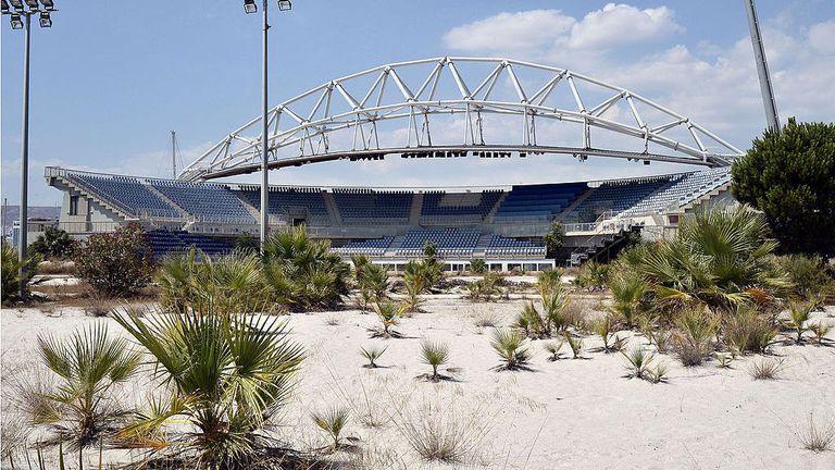 Изоставени олимпийски съоръжения