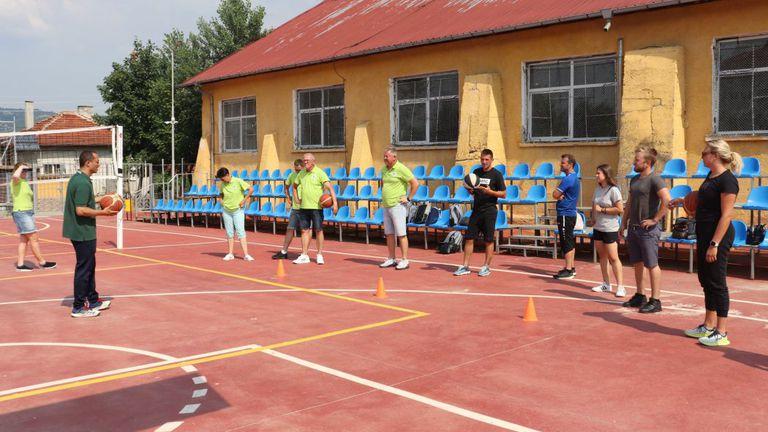 Международно обучение и спортно събитие по проект BeRURALactive се проведоха в Костенец