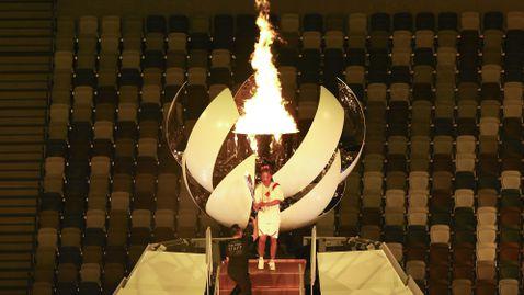 Наоми Осака откри Олимпийските игри в Токио