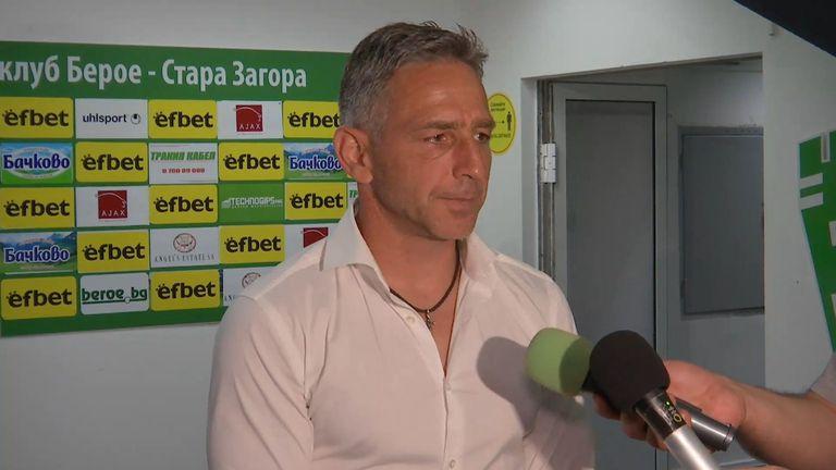 Петър Колев: Нервен първи мач, трябва да подобрим динамиката в отбора