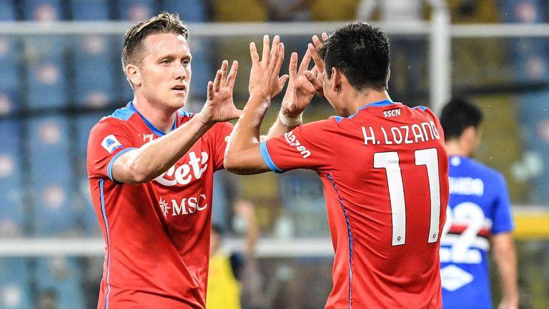 Наполи се завърна на върха в Серия А