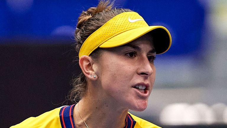 Белинда Бенчич се класира с лекота за четвъртфиналите в Острава