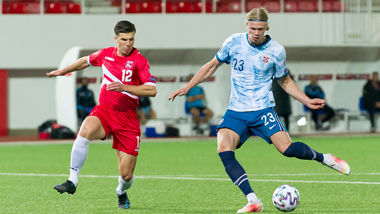 Гибралтар - Норвегия 0:3