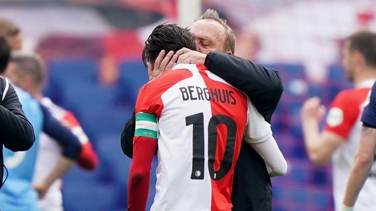 Дик Адвокаат класира Фейенорд за Европа в последния си мач (видео)