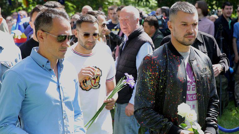 ПФК Левски поднесе цветя на Могилката