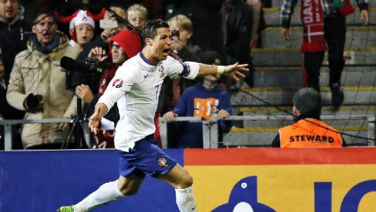 Кристиано Роналдо герой за Португалия в последната секунда (видео)