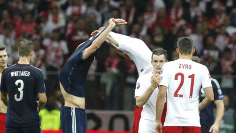 Полша и Шотландия не се победиха в голово шоу (видео)