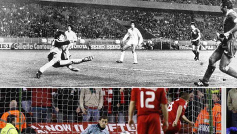 Историята: Ливърпул винаги бие Реал Мадрид, и то на нула