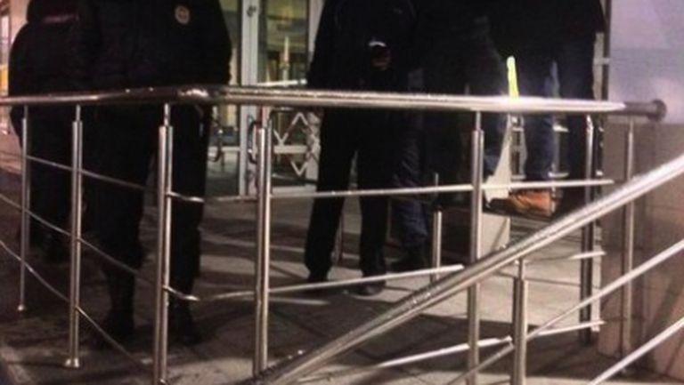 Фенове на Сити се направили на ченгета в Москва (снимка)