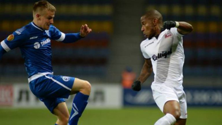 Динамо (Минск) с първа точка в Лига Европа (видео)