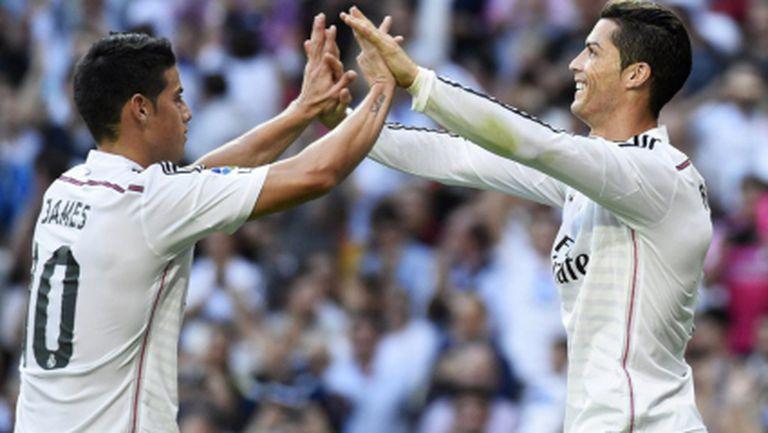 Реал Мадрид преобърна Барса в прекрасен мач (видео+галерия)